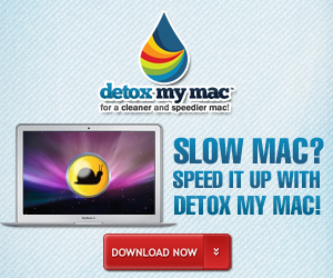 Detox My Mac ~ Multi-award Winning Mac Cleaner Application