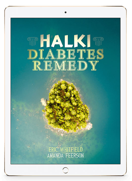 Halki Diabetes Remedy Book by Eric Whitfield