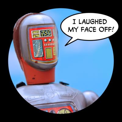 a robot with no face