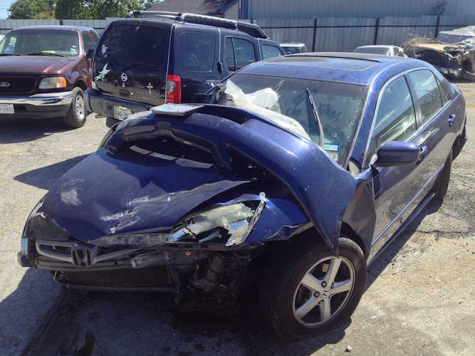 Photo of a damaged car