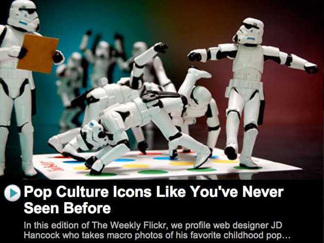 Pop Culture Icons Like You've Never Seen Before