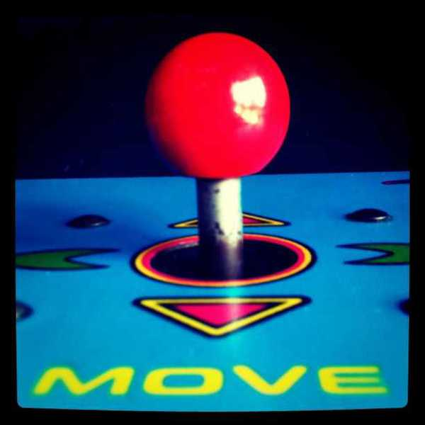 Photo of a video game joystick
