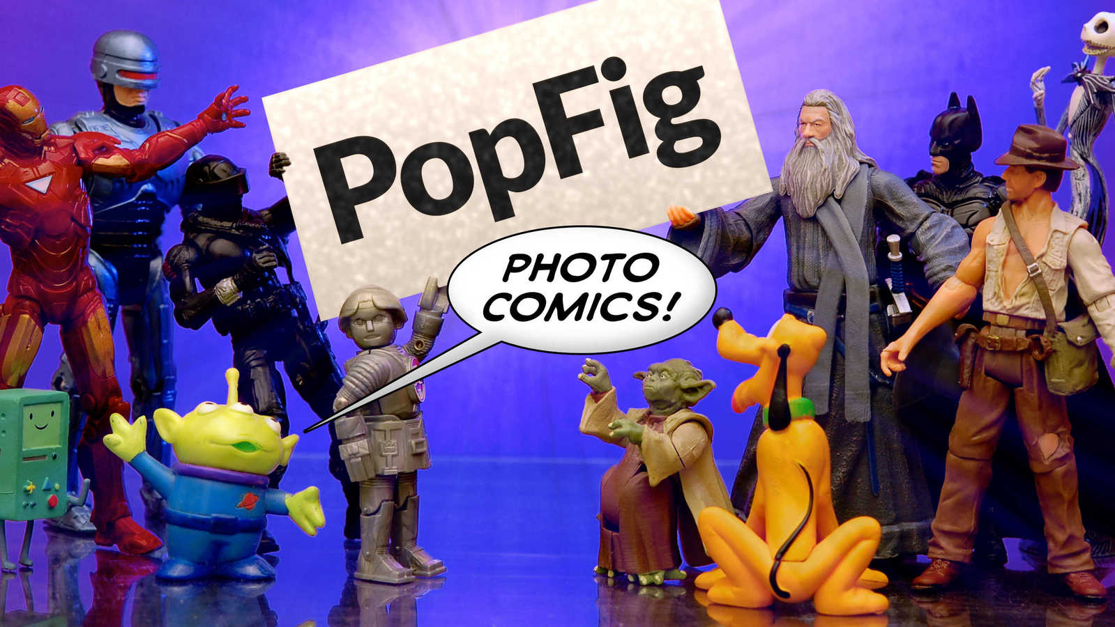 PopFig Photo Comics