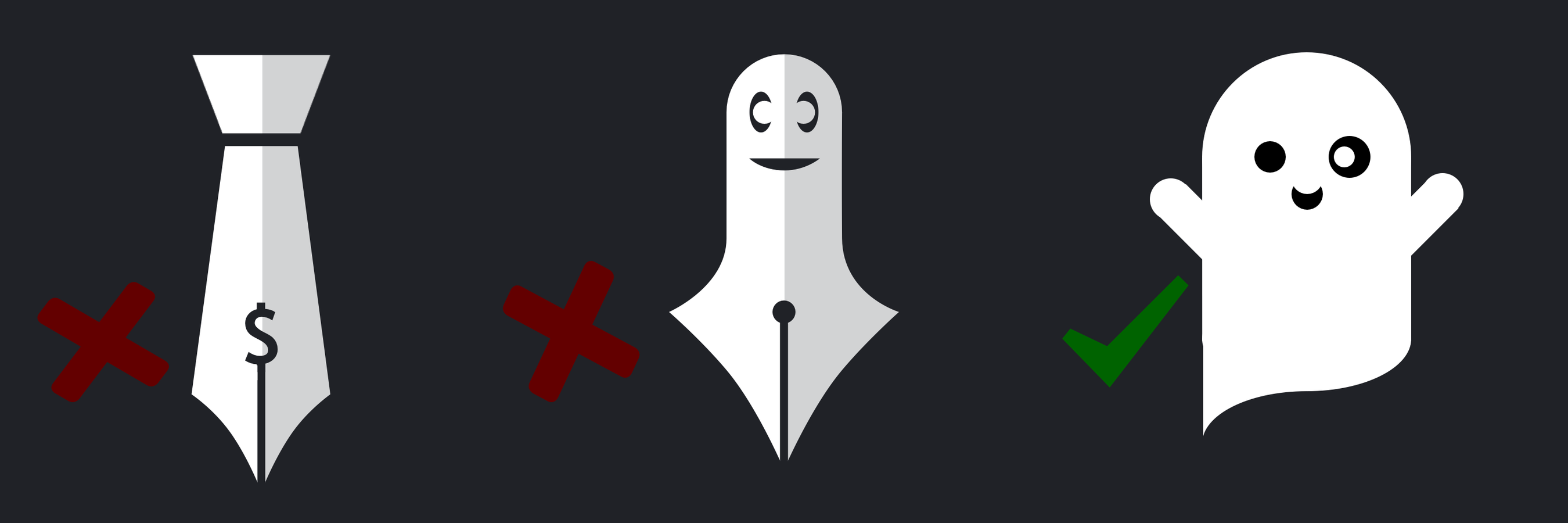 Evolution of Toby, the B2B Ghostwriting ghost