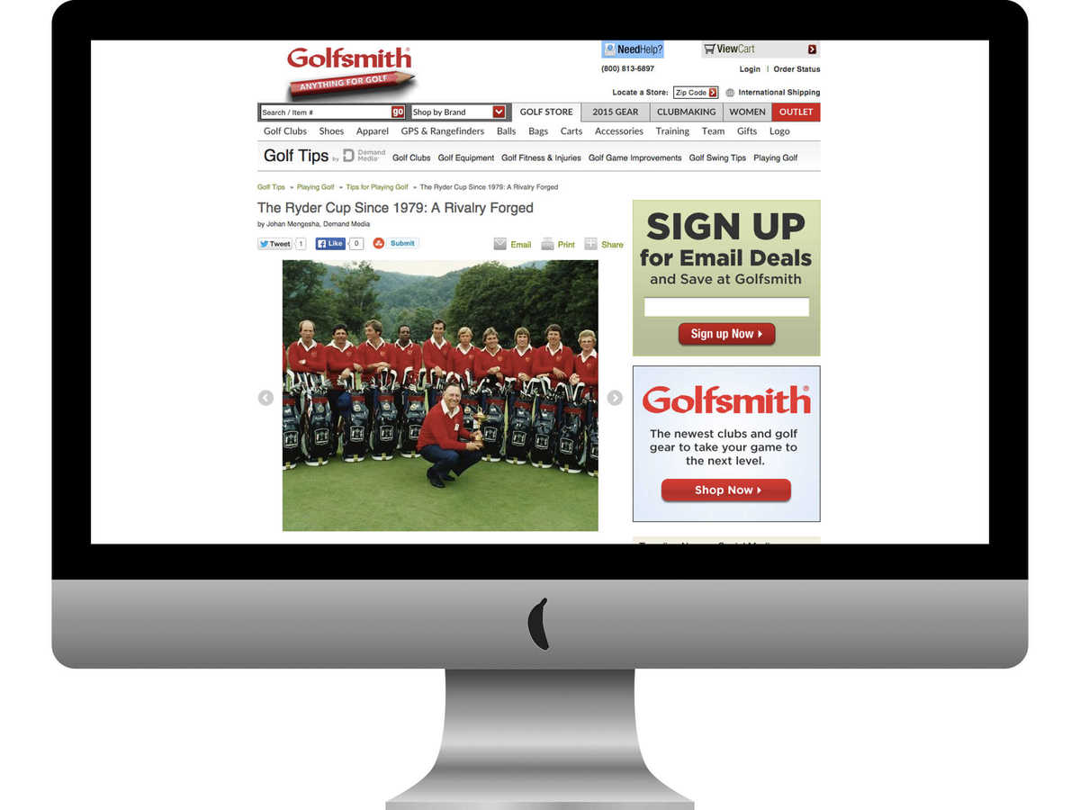 Golfsmith Golf Tips slideshow