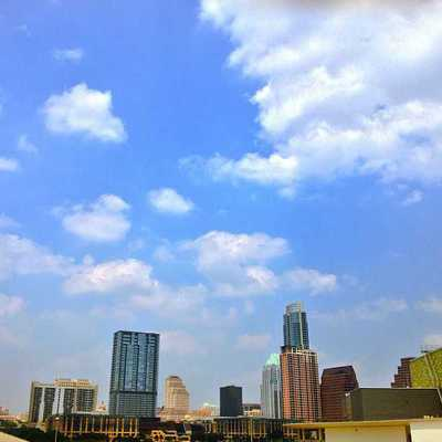 Downtown Austin, seen from Palmer Events Center