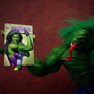 Hulk 2099 loves She-Hulk!