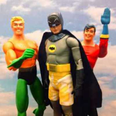Justice League Beach Party 1966