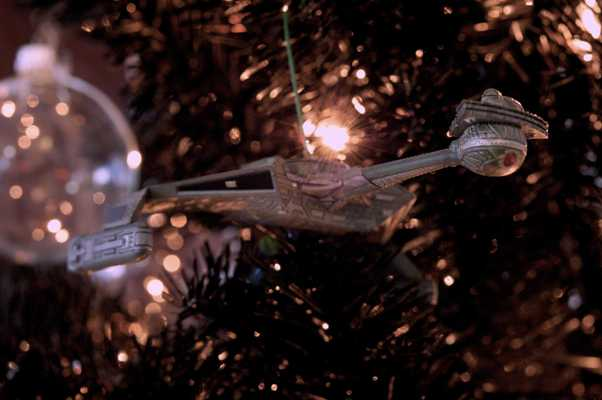 Star Trek Christmas Tree 2012 - Klingon Battle Cruiser