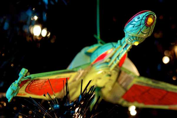 Star Trek Christmas Tree 2012 - Klingon Bird Of Prey