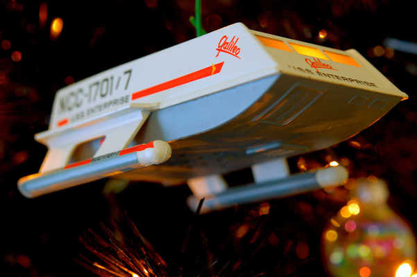 Star Trek Christmas Tree 2012 - Shuttlecraft Galileo