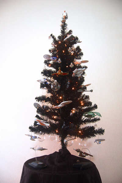 Star Trek Christmas Tree 2012