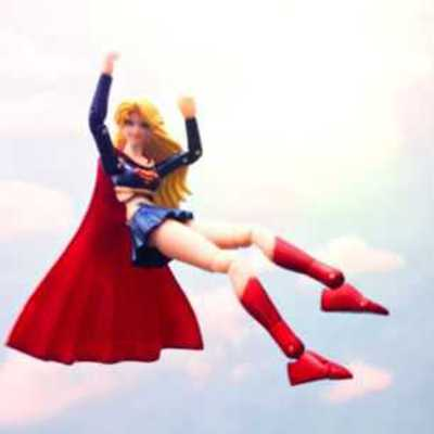 Supergirl on Cloud Nine