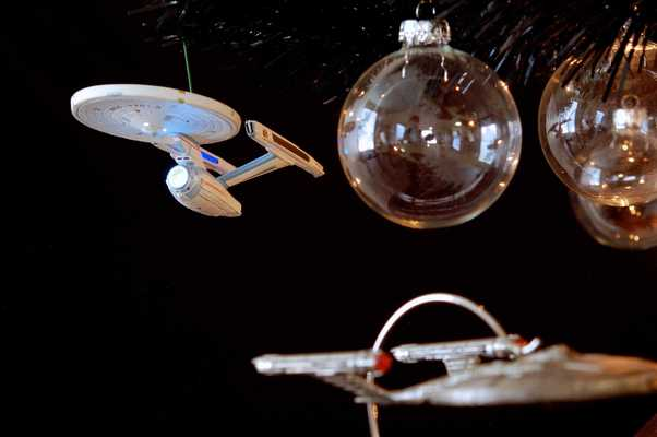 Star Trek Christmas Tree 2012 - USS Enterprise-A