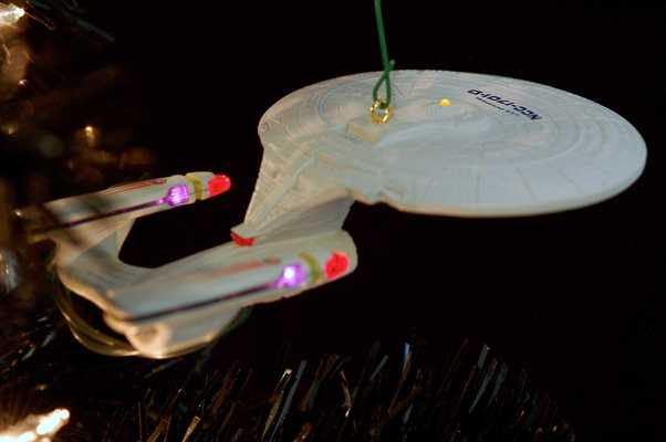 Star Trek Christmas Tree 2012 - USS Enterprise-D