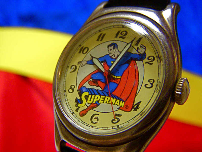 Photo of a Superman watch