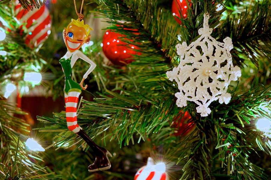 Photo of a Jingle Belle Christmas ornament
