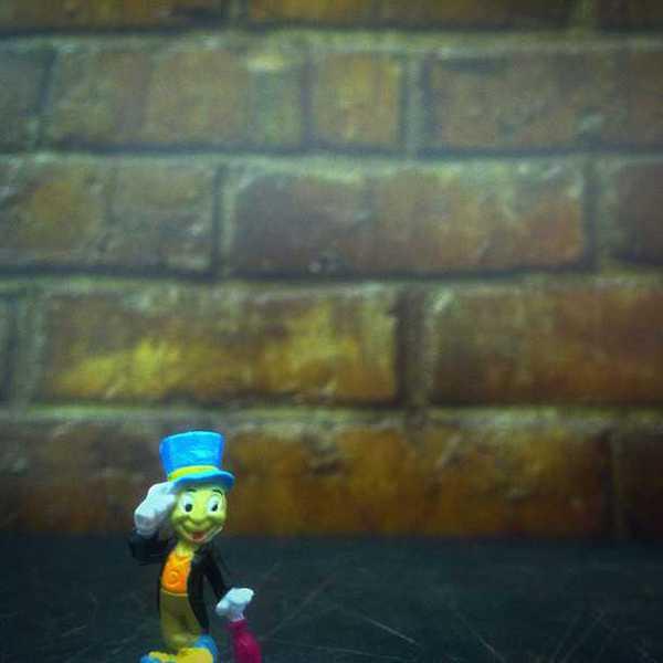 Photo of Jiminy Cricket