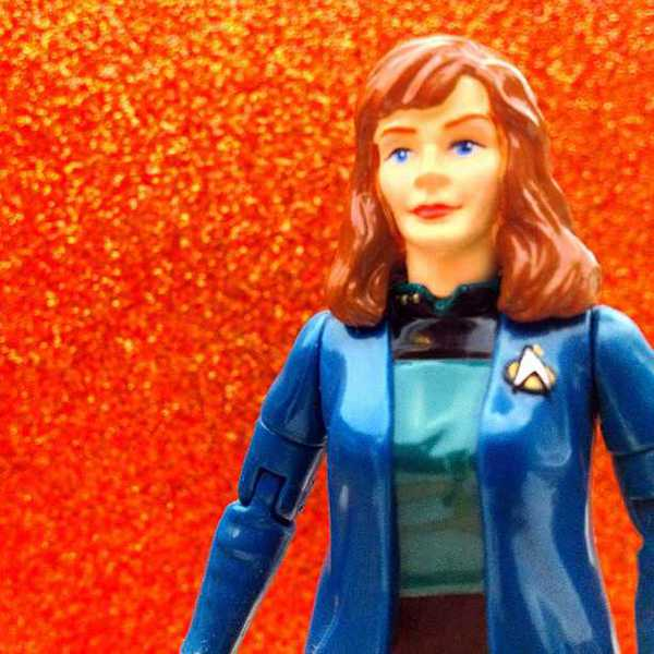 Photo of Dr. Crusher