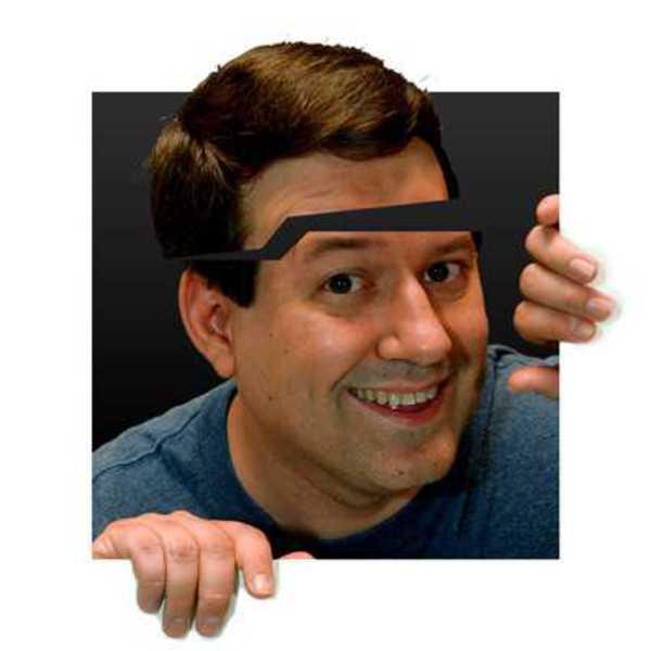 My avatar with a cracked head