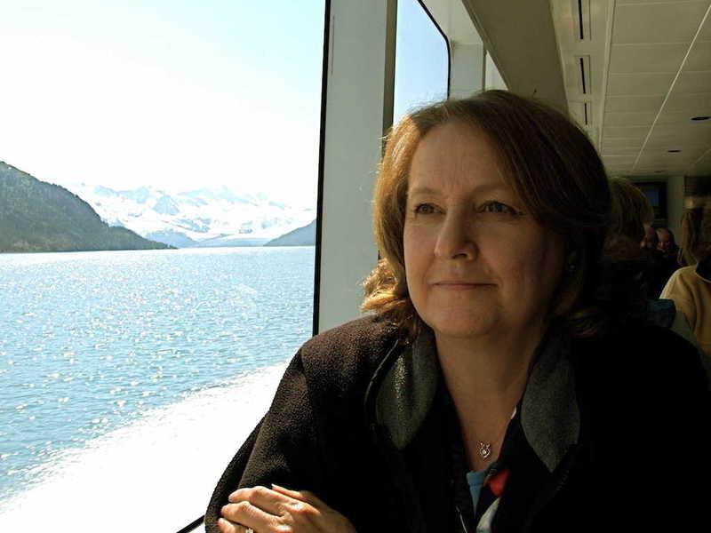 Photo of my mother, Nancy Hancock