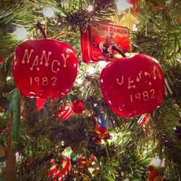 Photo of Nancy And Jerry apple ornaments