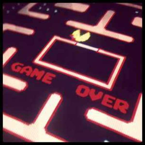 Photo of the Game Over screen