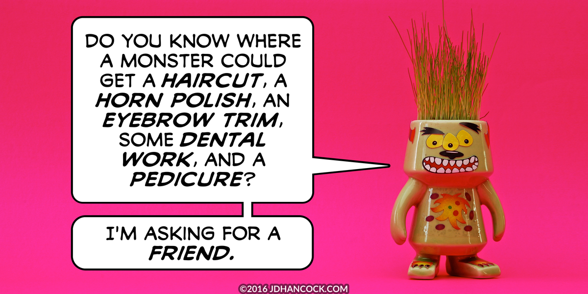 PopFig toy comic with a monster.