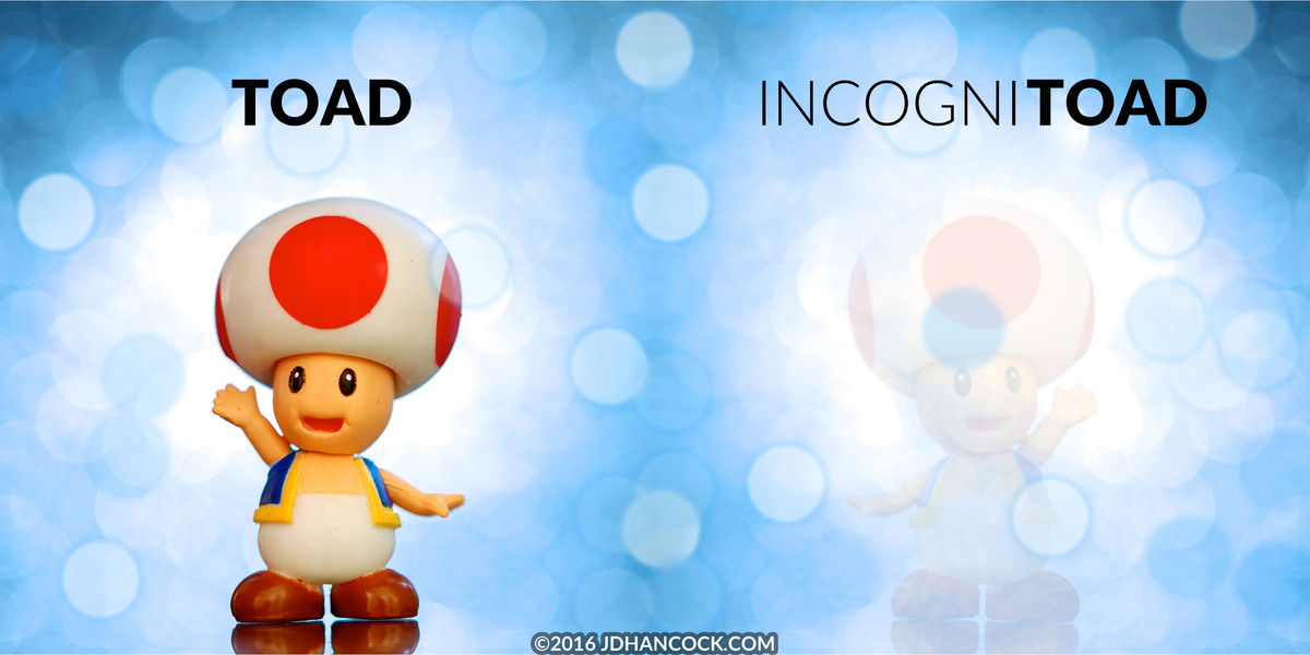 PopFig toy comic with Toad from the Mario Bros games.