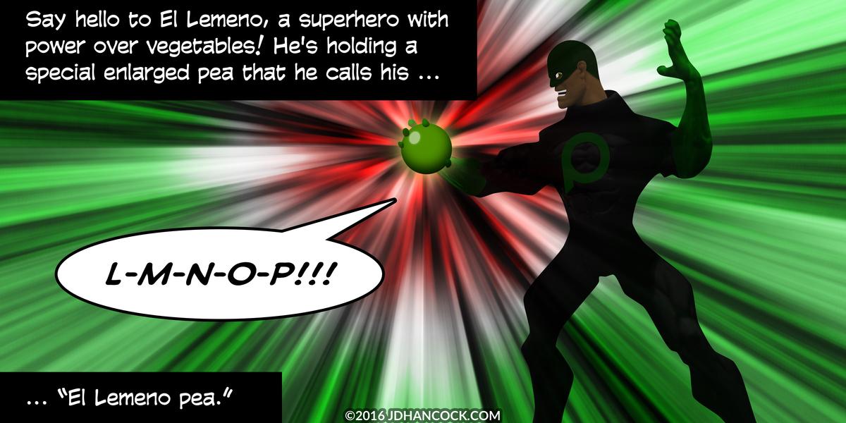 PopFig toy comic with El Lemeno.