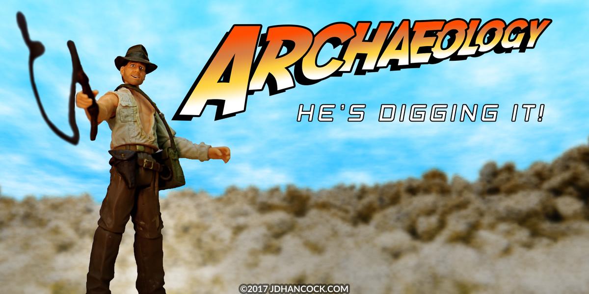 PopFig toy comic with Indiana Jones.