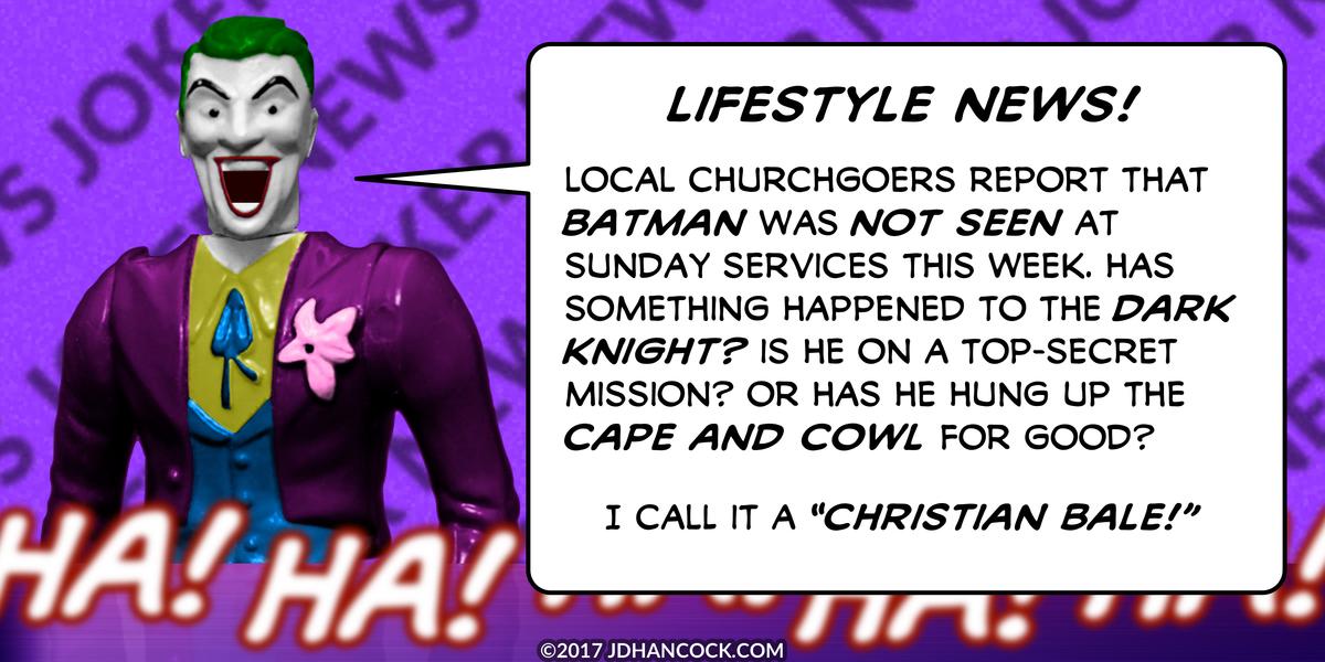 PopFig toy comic with Joker.