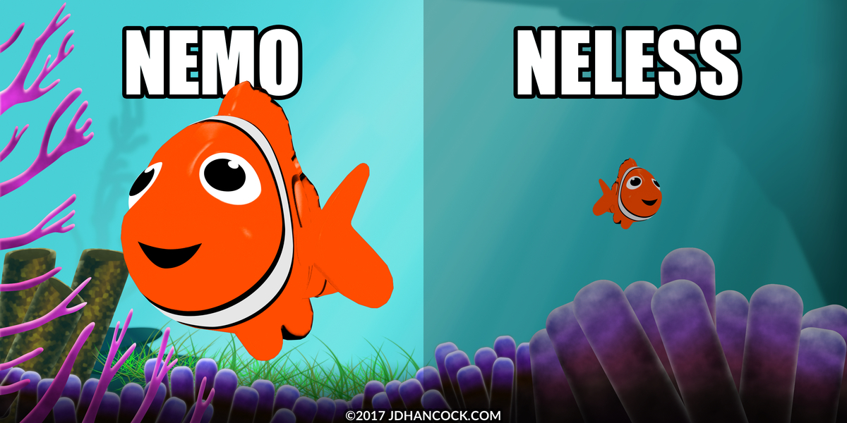 PopFig toy comic with Nemo.