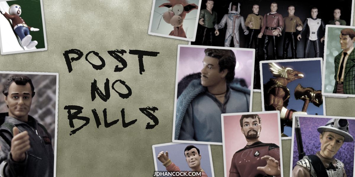 PopFig toy comic with Bill Murray, Billy Dee Williams, and more.