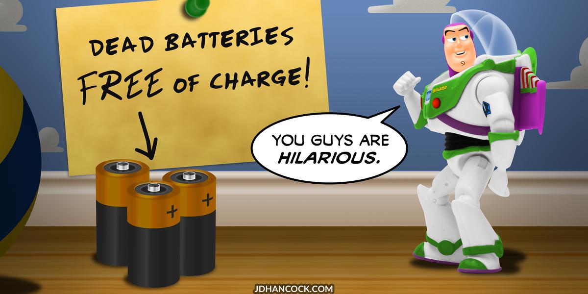 PopFig toy comic with Buzz Lightyear.