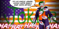 PopFig toy comic with the Joker.