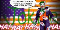 PopFig toy comic with the Joker.