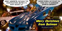 PopFig toy comic with Batman and Robin.