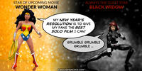 PopFig toy comic with Wonder Woman and Black Widow.