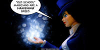 PopFig toy comic with Zatanna.