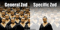 PopFig toy comic with General Zod.