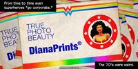PopFig toy comic with Wonder Woman.