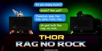 PopFig toy comic with Thor and Hulk.