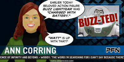 BUZZ-TED! toy comic